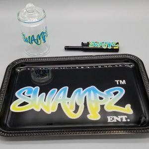 Custom logo rolling tray